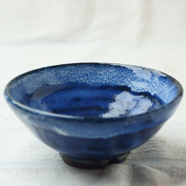 瑠璃釉茶碗