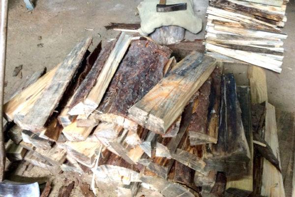 薪割り薪作り